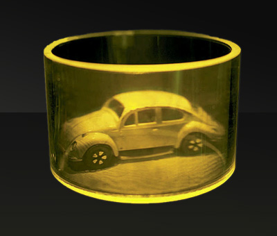 VW cylindrical hologram by Integraf